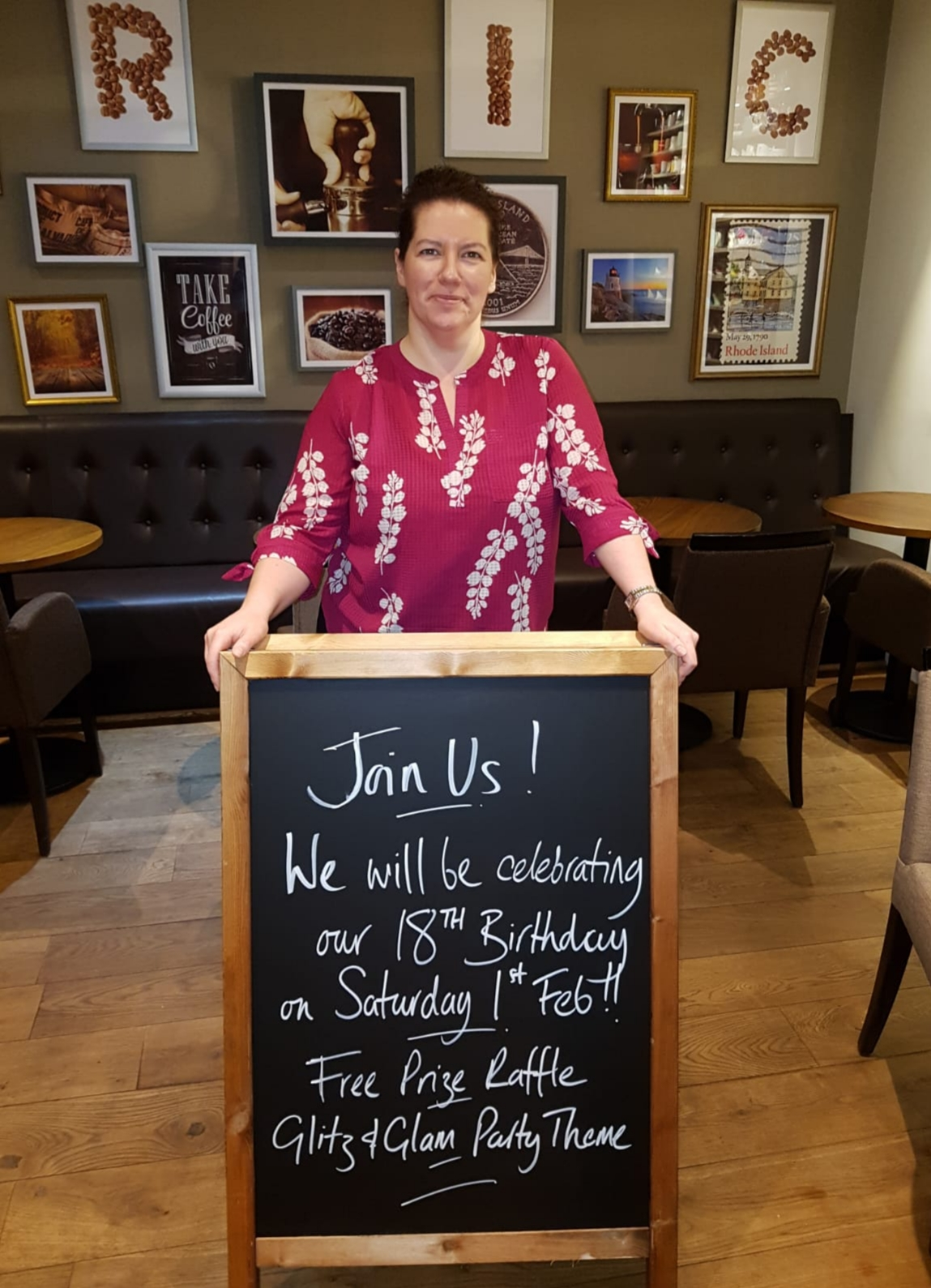 Come and join Rhode Island Coffee to celebrate their 18th birthday