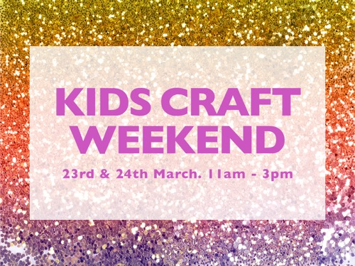 Kids Craft Weekend