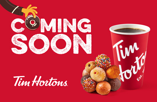 Tim Hortons – Coming Soon to Golden Square