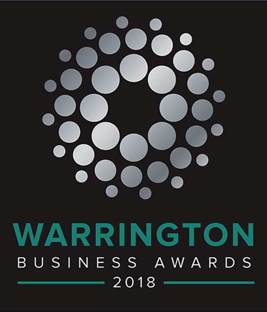 WARRINGTON BUSINESS AWARDS <br> RETAILER OF THE YEAR 2018<br>